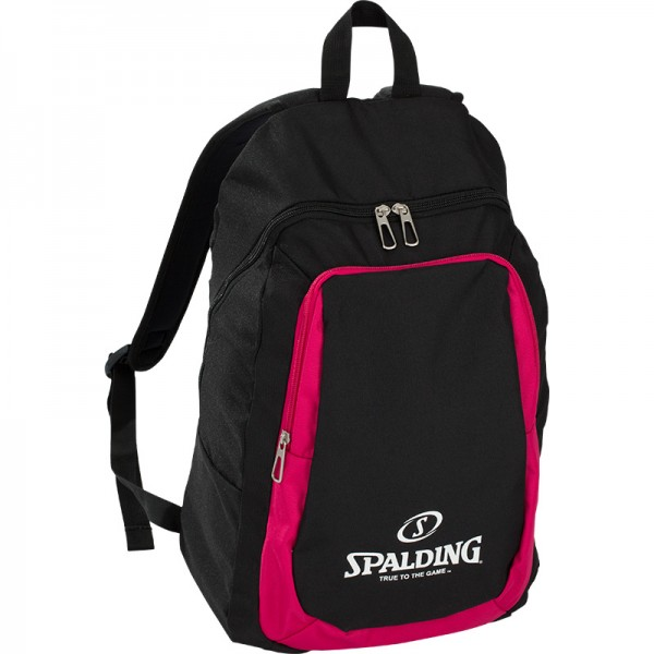 BACKPACK ESSENTIAL, schwarz/pink