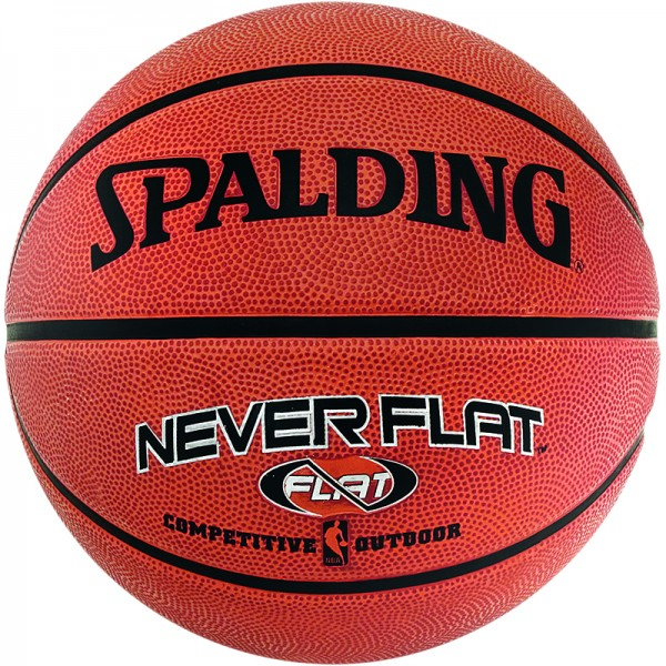 NBA NEVERFLAT OUTDOOR SZ.7 (63-803Z), orange, Gr. 7