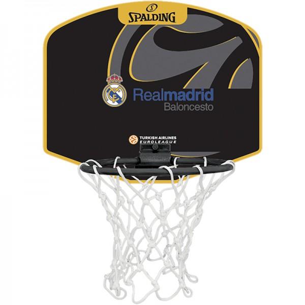 Spalding Basketball EL MINIBOARD REAL MADRID Mini Fanboard Backboard Board