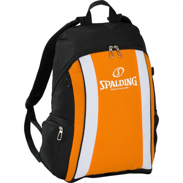 BACKPACK, orange/schwarz/weiß