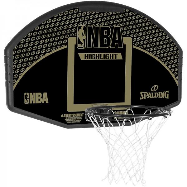 Spalding NBA HIGHLIGHT BACKBOARD FAN Basketball Board Korb ohne Standfuß