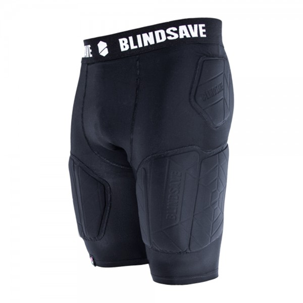 BLINDSAVE Padded Compression Shorts Pro +, 5 Pad Unterhose