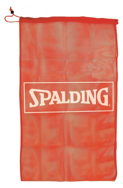 BASKETBALL MESH BAG (8361SCNR), rot