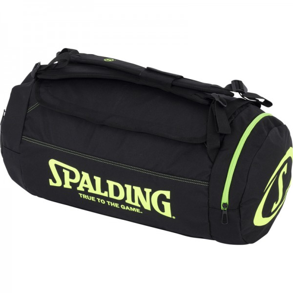DUFFLE BAG, schwarz/flash grün