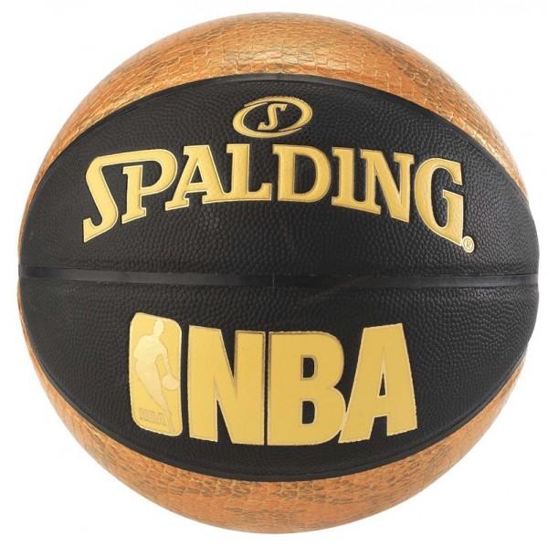 NBA SNAKE SZ.7 (76-039Z), schwarz/gold, Gr. 7