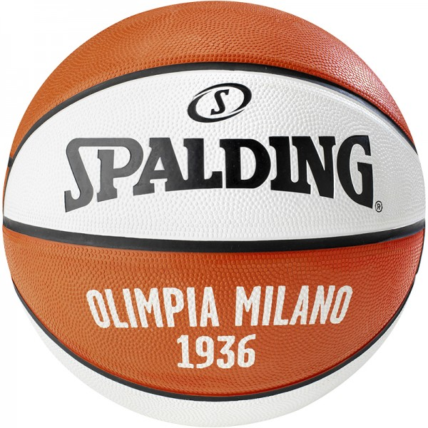 EL TEAM OLIMPIA MILANO SZ.7 (83-055Z), rot/weiß, Gr. 7