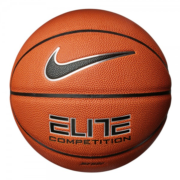 Nike Elite Competition 8P Basketball - amber/schwarz Gr. 7