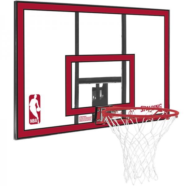 Spalding NBA POLYCARBONAT BACKBOARD Basketball Board Korb ohne Standfuß