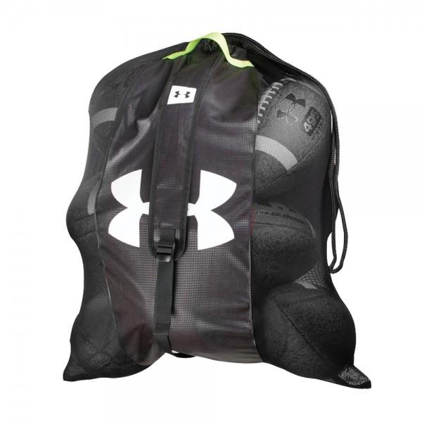 Under Armour Hauler Mesh Ball Bag, Ballsack, Ballnetz, 65x90cm für 10 Basketbälle