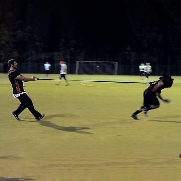 Widerstandsband, Resistance Band, Sprinttrainer 3 meter