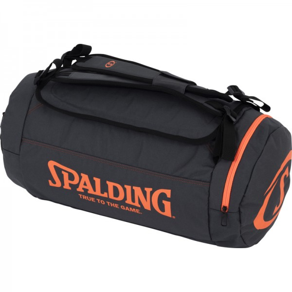 DUFFLE BAG, anthra/shock orange