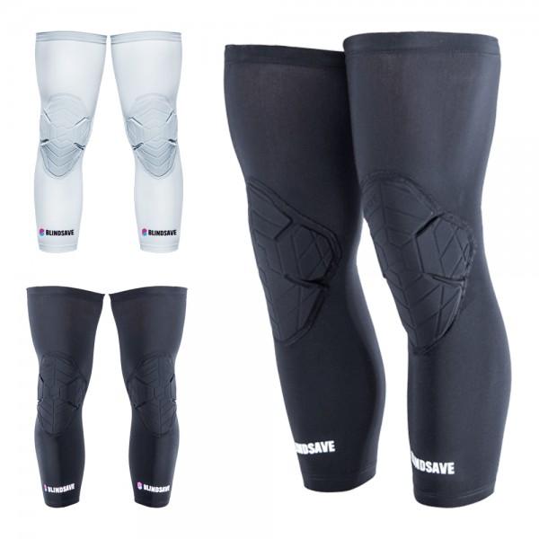 BLINDSAVE Knee Pads; Knie Sleeves, 1 Paar