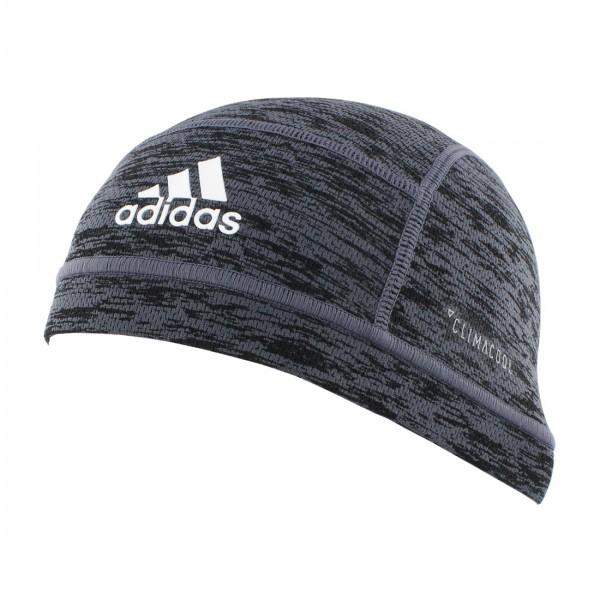 adidas Climacool Football Skull Cap Black Spacedye Print, grau/schwarz