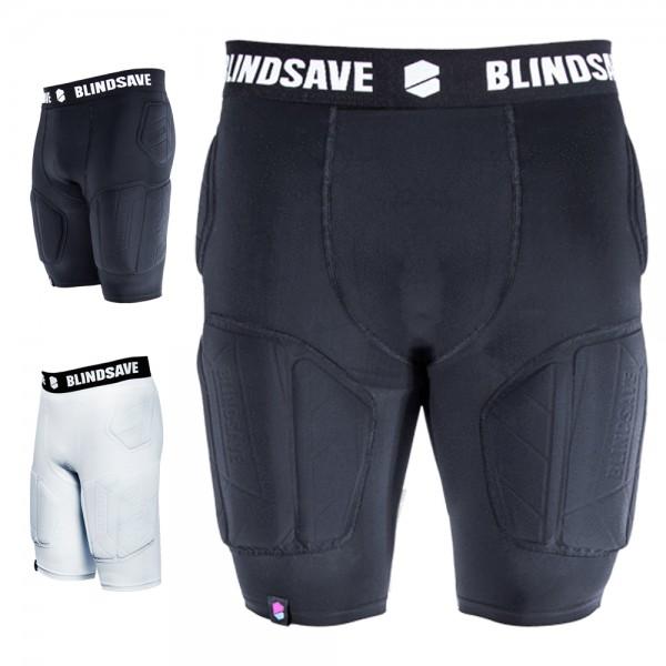 BLINDSAVE Padded Compression Shorts Pro +, 5 Pad Unterhose