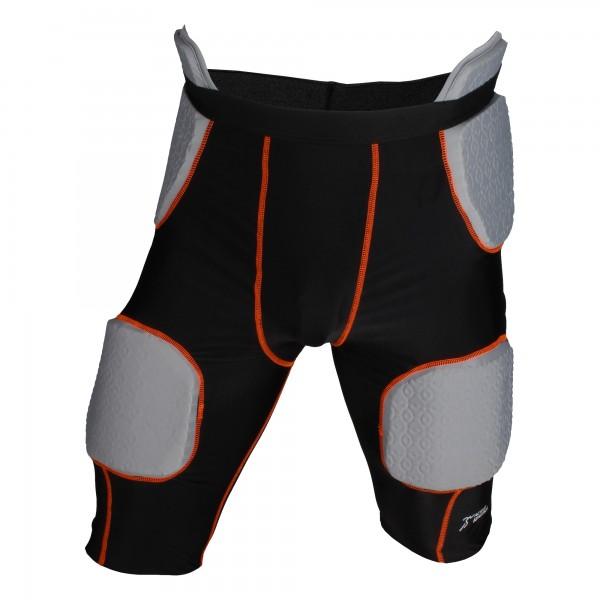 Active Athletics Basketball Unterhose mit 5 integrierten Pads