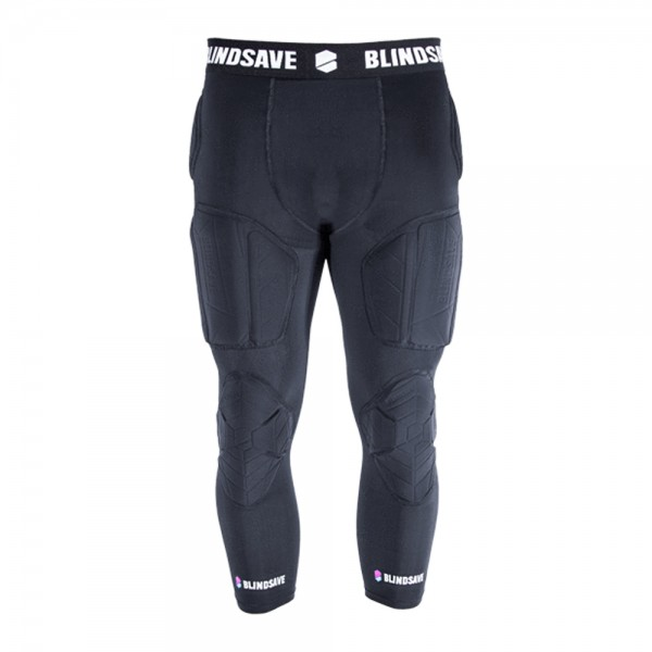 BLINDSAVE 3/4 Tights with Full Protection, 6 Pad Unterhose