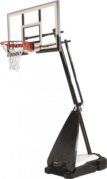 Spalding NBA ULTIMATE HYBRID PORTABLE Basketball Backboard Board Korbanlage mit Standfuß