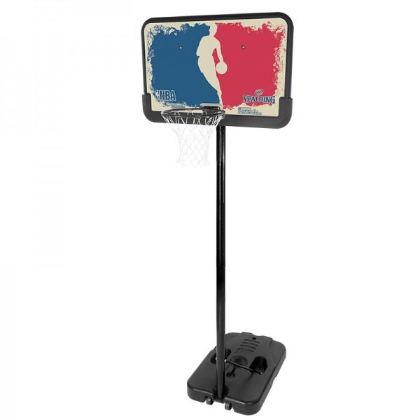 Spalding NBA LOGOMAN PORTABLE Basketball Backboard Board Korbanlage mit Standfuß