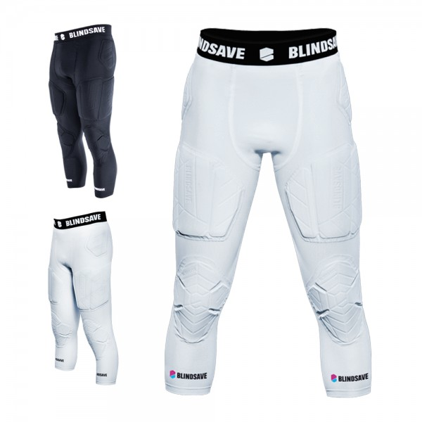 BLINDSAVE 3/4 Tights with Full Protection, 7 Pad Unterhose
